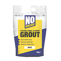 No Nonsense  Wall & Floor Grout White 5kg