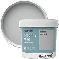 GoodHome Smooth Masonry Paint Oklahoma 5Ltr