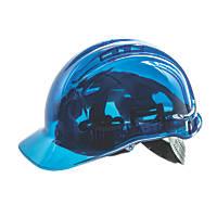 Portwest Peakview Translucent Vented Safety Helmet Blue