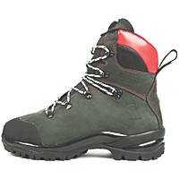 Oregon Fiordland   Safety Chainsaw Boots Green Size 5