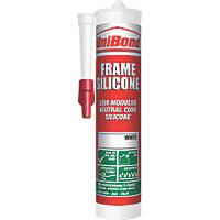 Unibond Frame Silicone Sealant  White 392g