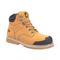 Amblers FS226   Safety Boots Honey Size 6