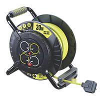 PRO XT 13A 4-Gang 30m  Cable Reel 240V