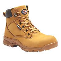 Dickies Corbett  Ladies Safety Boots Honey Size 5