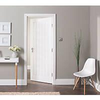 Jeld-Wen  Primed White Wooden Cottage Internal Door 1981 x 838mm