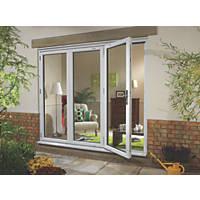 Euramax uPVC Fold & Slide Double-Glazed Patio Door Left-Hand 1790 x 2090mm