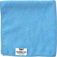 Unger Microfibre Cloths Blue 400 x 400mm 10 Pack