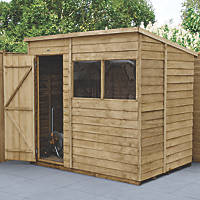 Forest  5' x 7' (Nominal) Pent Overlap Timber Shed