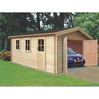Bradenham 35 Log Cabin Assembly Included 4.4 x 4.1m