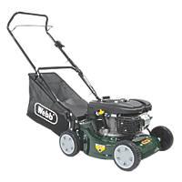 Webb WER410HP 41cm 132cc Hand-Propelled Rotary Petrol Lawn Mower