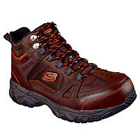 Skechers Ledom   Safety Boots Brown Size 6