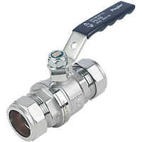 Pegler  Lever Ball Valve Blue 28mm