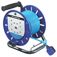 Masterplug LDCT2513BQ/4-XD 13A 4-Gang 25m Cable Reel 240V