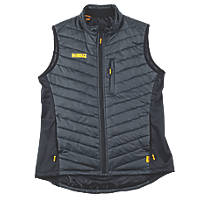 "DeWalt Riverton Body Warmer Charcoal / Black Large 42-44"" Chest"