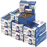 Screw-Tite 2 PZ Double Self-Countersunk Trade Pack 1200 Pcs
