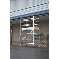 Lyte  Single Depth Aluminium Folding Work Tower System 1.6m