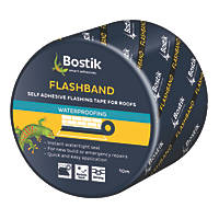 Bostik Flashband Grey 10m x 150mm