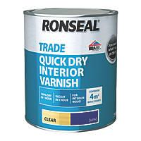 Ronseal Interior Varnish Satin Clear 750ml