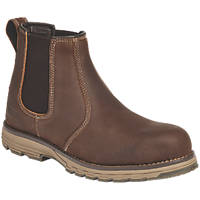 Apache Flyweight   Safety Dealer Boots Brown Size 8