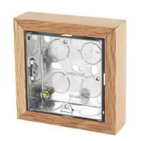 Varilight Single Wall Box Classic Oak