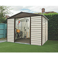Yardmaster Shiplap Sliding Door Apex Shed 10 x 12'