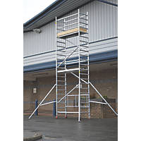 Lyte  Single Depth Aluminium Folding Work Tower System 4.6m