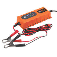 RAC RAC-HP239 4A Smart Battery Charger 6 / 12V