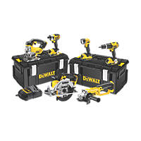 DeWalt DCK691M3-GB 18V 4.0Ah Li-Ion XR Cordless 6-Piece Power Tool Kit