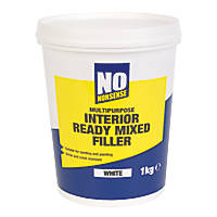 No Nonsense Interior Ready-Mixed Filler White / Off-White 1kg
