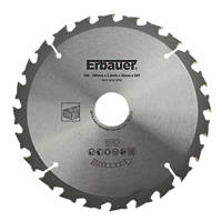 Erbauer TCT Saw Blade 180 x 30mm 24T