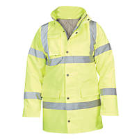 "Hi-Vis Traffic Jacket  Yellow Large 54"" Chest"