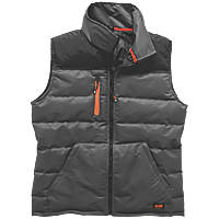 "Scruffs Worker Body Warmer Black / Charcoal Small 40"" Chest"