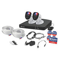 Swann SWDVK-456802-RL 4-Channel DVR CCTV Kit & 2 Cameras