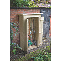 "Forest 3'6"" x 1'10"" (Nominal) Pent Shiplap Timber Garden Store"