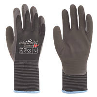 Towa PowerGrab Thermo W Thermal Grip Gloves Brown / Black Large