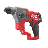 Milwaukee M12 CH-0 FUEL 1.7kg 12V Li-Ion RedLithium Brushless Cordless SDS Plus Drill - Bare