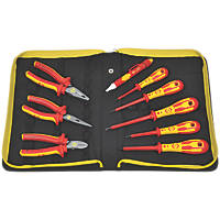 C.K Dextro PZ  VDE Pliers & Screwdriver Set 9 Pieces