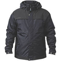 Apache ATS Jacket Black Waterproof & Breathable Large Size 40-42""