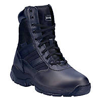 "Magnum Panther 8"" Lace (55616)   Non Safety Boots Black Size 5"