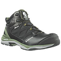 Albatros Ultratrail Ctx Mid   Safety Trainer Boots Black / Olive Size 7