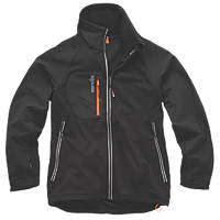 """Scruffs Trade Flex Work Jacket Black X Large 46"""" Chest"""