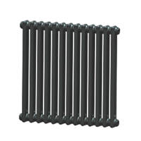 Acova  2-Column Horizontal Radiator 600 x 628mm Volcanic