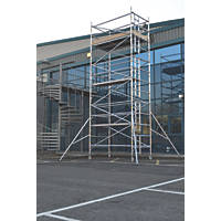Lyte Helix Double Depth Aluminium Industrial Tower 5.7m