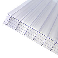 Axiome Fivewall Polycarbonate Sheet Clear 1000 x 25 x 2000mm