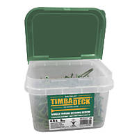 Timbadeck Double-Countersunk Carbon Steel Decking Screws 4.5 x 75mm 500 Pack