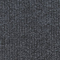 Distinctive Flooring  Ribbed Carpet Tiles Anthracite 16 Pack