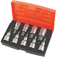 "Bahco  1/2"" Drive Hex Socket Set 9 Pieces"