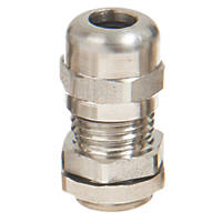 Schneider Electric 304L Stainless Steel Cable Glands  M25 4 Pack