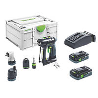 Festool C18 18V 4.0Ah Li-Ion Airstream Brushless Cordless Drill Driver