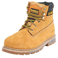DeWalt Hancock   Safety Boots Wheat Size 8
